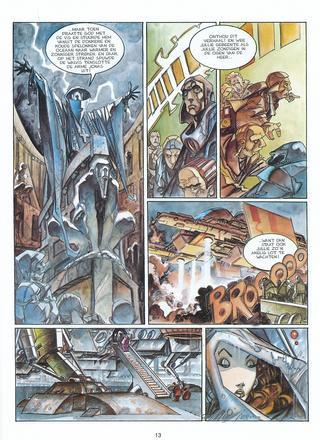 Lorna En De Leviathan van Alfonso Azpiri