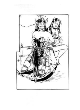 Nachtmerries en Gruwelen Van Diana van Eric Stanton