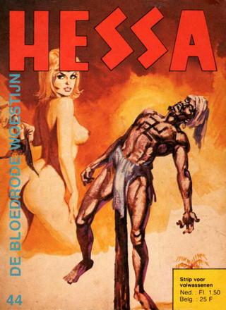De Bloedrode Woestijn van Hessa