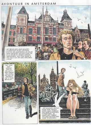 Avontuur in Amsterdam van Horacio Altuna