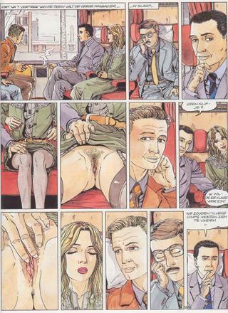Sex Tussen de Rails van Hugdebert