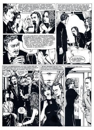 Opwinding in de Orient Express van Hugdebert