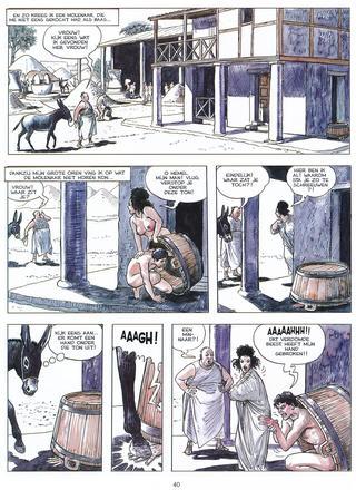 De metamorfose van Lucius van Milo Manara