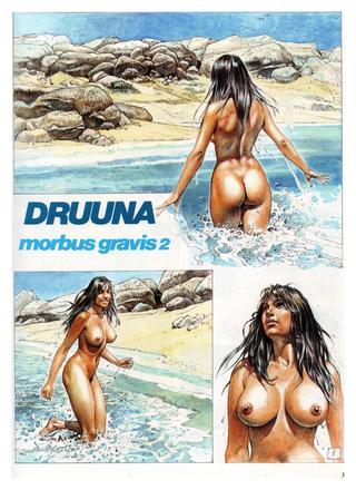 Druuna Morbus Gravis 2 van Paolo Eleuteri Serpieri