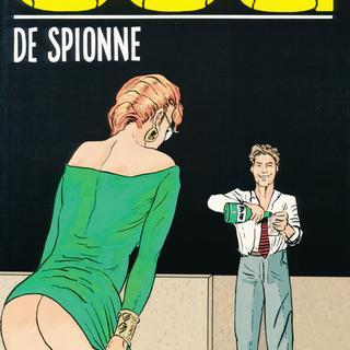De spionne van Bruno Coq