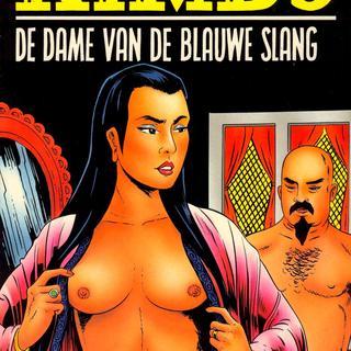 De Dame van de Blauwe Slang van Kimbo