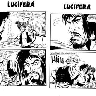 Het Hoofd van Saladin van Lucifera