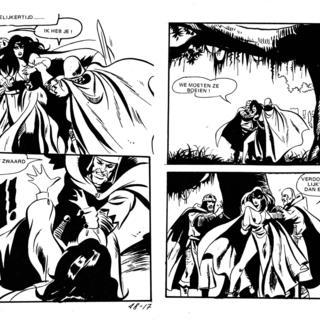 Aan Het Hoofd van de Saksen van Lucifera