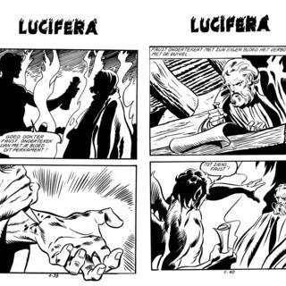 De Vlammen van de Hel van Lucifera