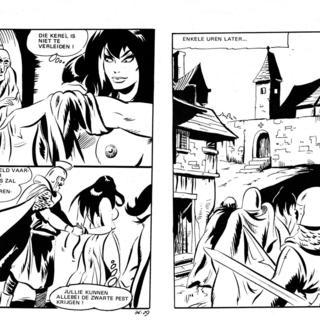 De Duivelin In Het Klooster van Lucifera