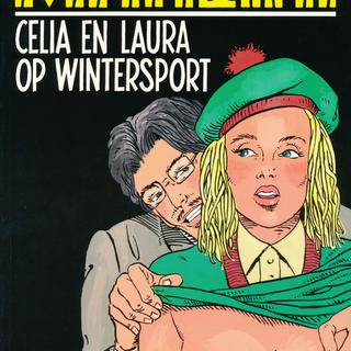 Celia en Laura op Wintersport van Mancini