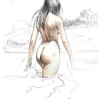 Op Zoek naar Druuna van Paolo Eleuteri Serpieri