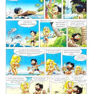 Strips 6 van Seron