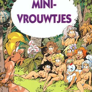 Mini-vrouwtjes het Heilige Ding van Seron